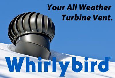 turbine installation - Turbine Roof Vents