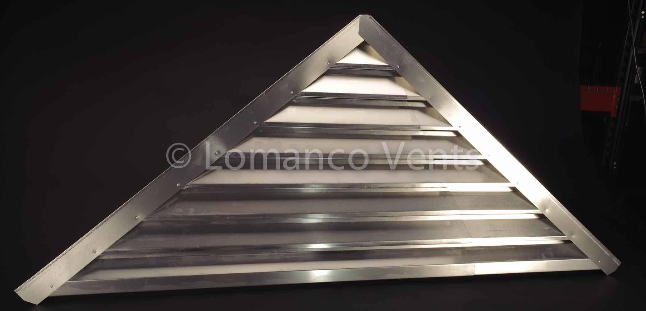 Lomanco vents gable vents for Off ridge vents