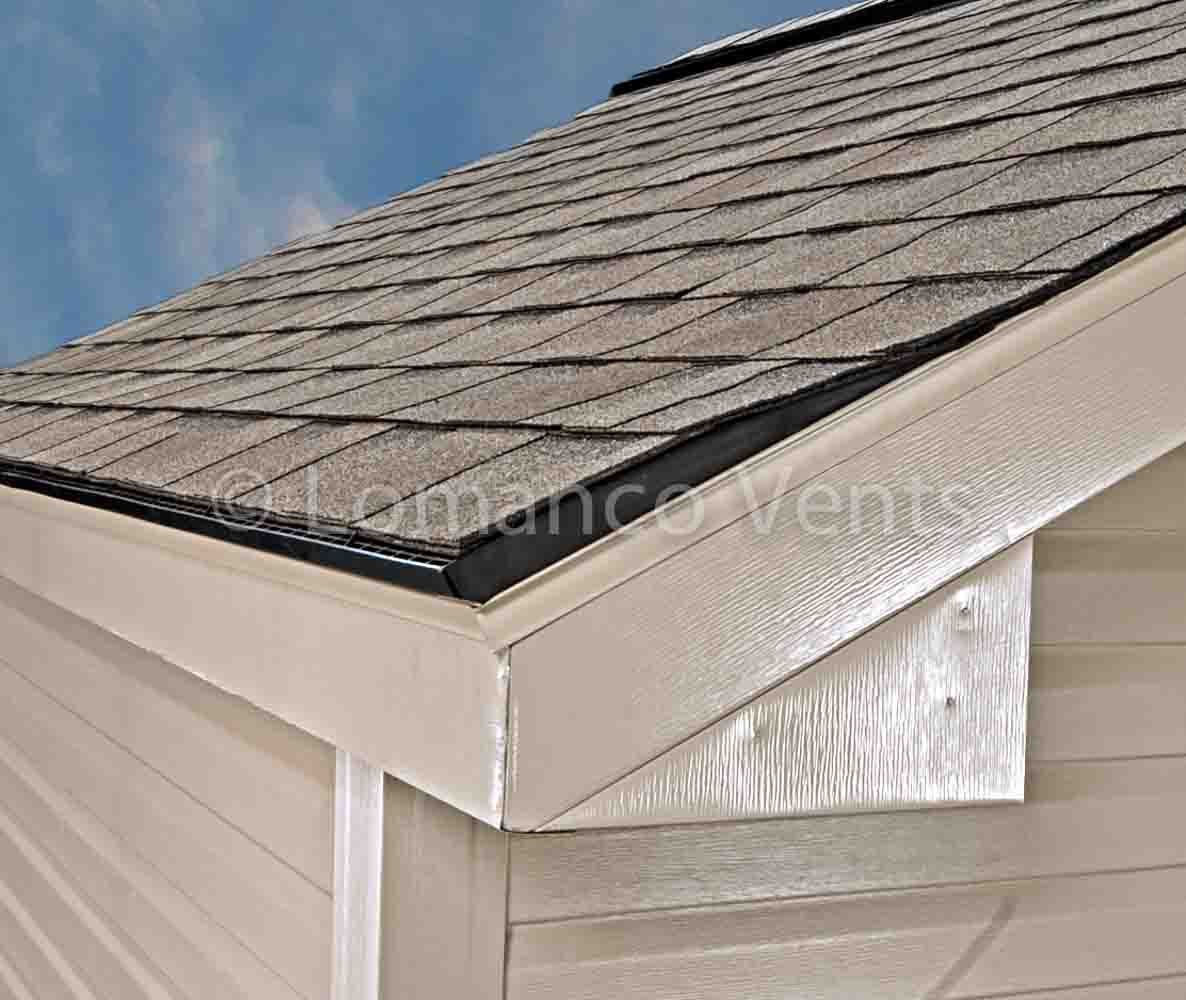 Roof Air Intake : Roofing edge vent turtle vents