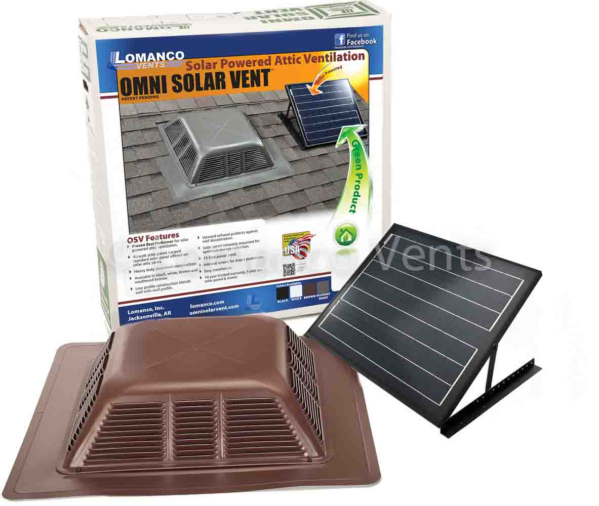 Lomanco Vents Tile Solar