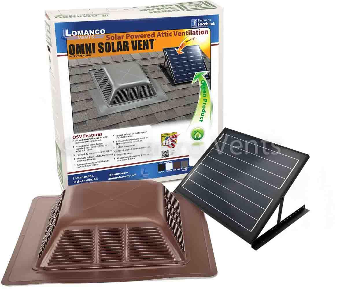 Lomanco Vents Tile Solar